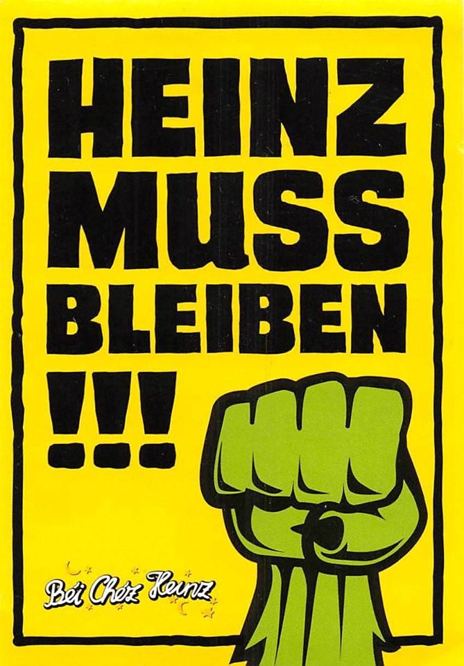 Heinz muss bleiben!